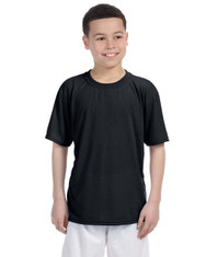 Black G420B Performance Youth T-Shirt