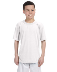 White G420B Performance Youth T-Shirt