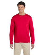 Red G644 SoftStyle Long Sleeve T-Shirt