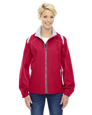 Olympic Red - 78076 North Ladies' Lightweight Colour-Block Jacket