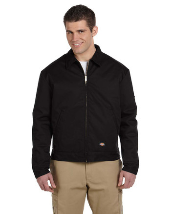 Black JT15 Dickies Lined Eisenhower Jacket | Blankclothing.ca