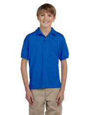 Royal - G880B Gildan DryBlend® Youth 50/50 Jersey Polo