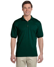 Forest Green G880 Gildan DryBlend 50/50 Jersey Polo | Blankclothing.ca
