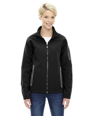 Black - 78060 North End Ladies' Soft Shell Technical Jacket