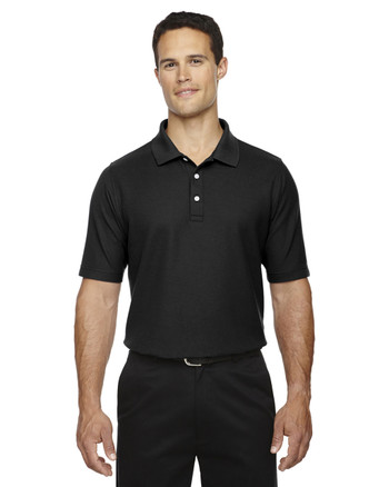 Black DG150T Devon & Jones Men's DRYTEC20 Tall Performance Polo