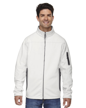 Crystal Quartz - 88138 North End Men's Soft Shell Technical Jacket | Blankclothing.ca