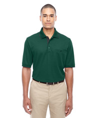 Forest 88222 Ash City - Core 365 Men's Motive Performance Pique Polo with Tipped Collar