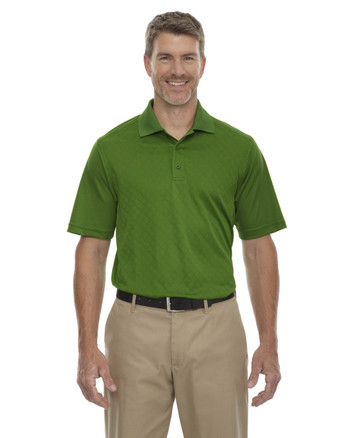 Valley Green 85116 Ash City - Extreme Eperformance Men's Stride Jacquard Polo