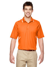 Amber Orange - Extreme Eperformance Propel Interlock Polo with Contrast Tape