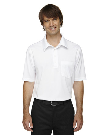 White 85114 Ash City - Extreme Eperformance Men's Shift Snag Protection Plus Polo Shirt