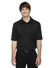 Black 85114 Ash City - Extreme Eperformance Men's Shift Snag Protection Plus Polo