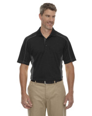 Black 85113 Ash City - Extreme Eperformance Men's Plus Colourblock Polo