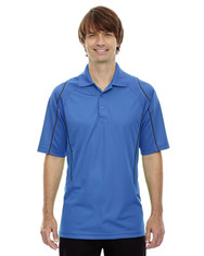 Ltnaut Blu 85107 Ash City - Extreme Eperformance Men's Velocity Polo with Piping