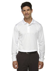 white 85111 Ash City - Extreme Eperformance Men's Long-Sleeve Polo