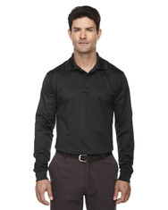 Black 85111 Ash City - Extreme Eperformance Men's Long-Sleeve Polo