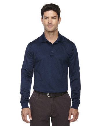 Classic Navy 85111T Ash City - Extreme Eperformance Men's Tall Long-Sleeve Polo