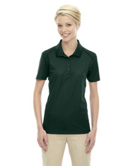 Forest Green 75108 Ash City - Extreme Eperformance Ladies' Shield Short-Sleeve Polo Shirt