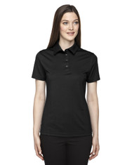 Black 75114 Ash City - Extreme Eperformance Ladies Snag Protection Plus Polo
