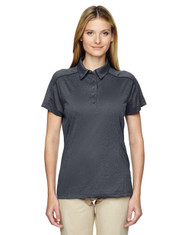 Carbon 75117 Ash City - Extreme Eperformance Mélange Polo