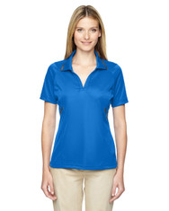 Lnaut Blu 75118 Ash City - Extreme Eperformance Propel Interlock Polo with Contrast Tape