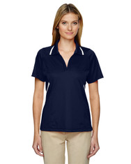 Classic Navy 75118 Ash City - Extreme Eperformance Propel Interlock Polo Shirt with Contrast Tape