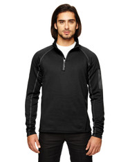 Black 80890 Marmot Men's Stretch Fleece Half-Zip