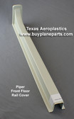 Piper floor rail cover. Replaces Piper part number 63131-00. Product Number 60-18-80A