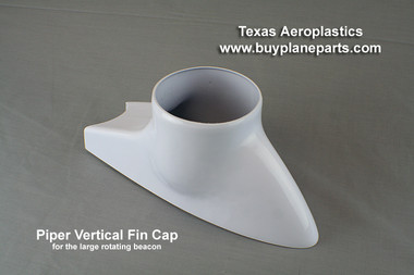 Piper vertical fin cap for large beacon. Piper OEM part # 65345-03 Product # 60-28-80A