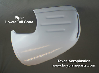 Piper lower tailcone. Piper part number 66822-07. Product number 60-31-80A