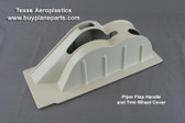 Piper interior Flap Handle floor cover. Piper part number 67785-17.