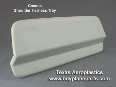 Cessna Interior, Shoulder Harness Tray (left or right) Cessna part number  0515010-10 Product number 20-14-80A