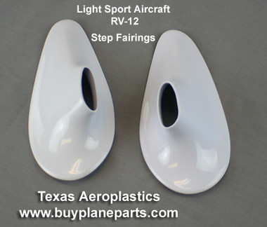 RV-12 Step fairing set Product number RV-12 step fairing-80A