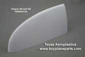 Cessna 150 stabilizer tip, replaces OEM part number 0430004-11. Left and right are the same.