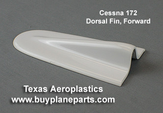Cessna 172 Dorsal Fin Tip Forward, (1965-1971)  Replaces Cessna P/N 0731605-3 Product number 28-15-80A