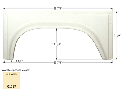 Single Fender Skirt FS381