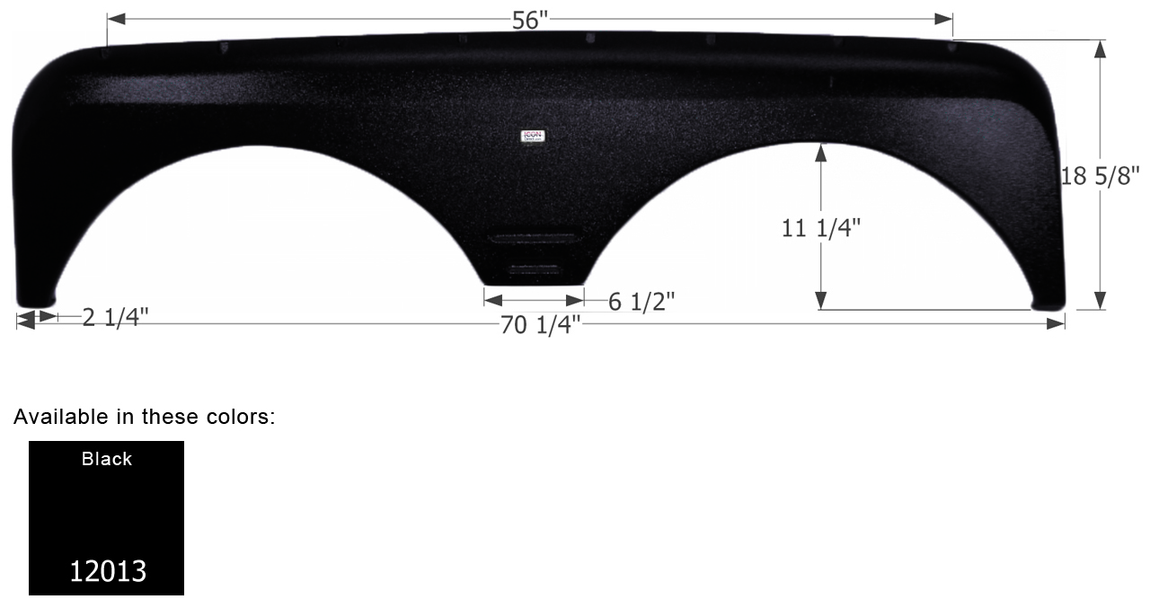 Tandem Fender Skirts for Gulfstream Travel Trailers & Fifth Wheels