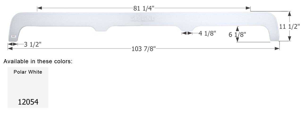 Triple Axle Fender Skirt For Layton Skyline Travel