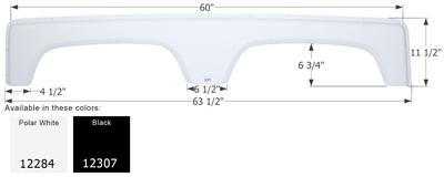 Coachmen Tandem Fender Skirt FS2284