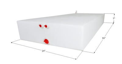 Jayco Fresh Water Tank WT3594 - 38 Gal., 0211873