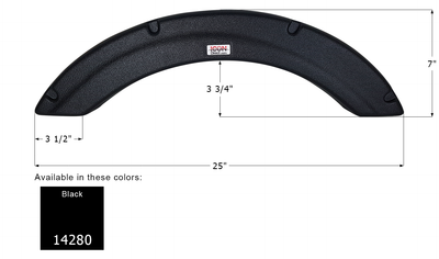 Palomino Single Fender Skirt FS4280
