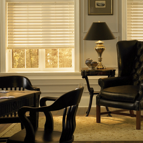 Shutter Style Faux Wood Blinds