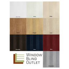 Custom Roman Shades Stripe Series Sample Swatches