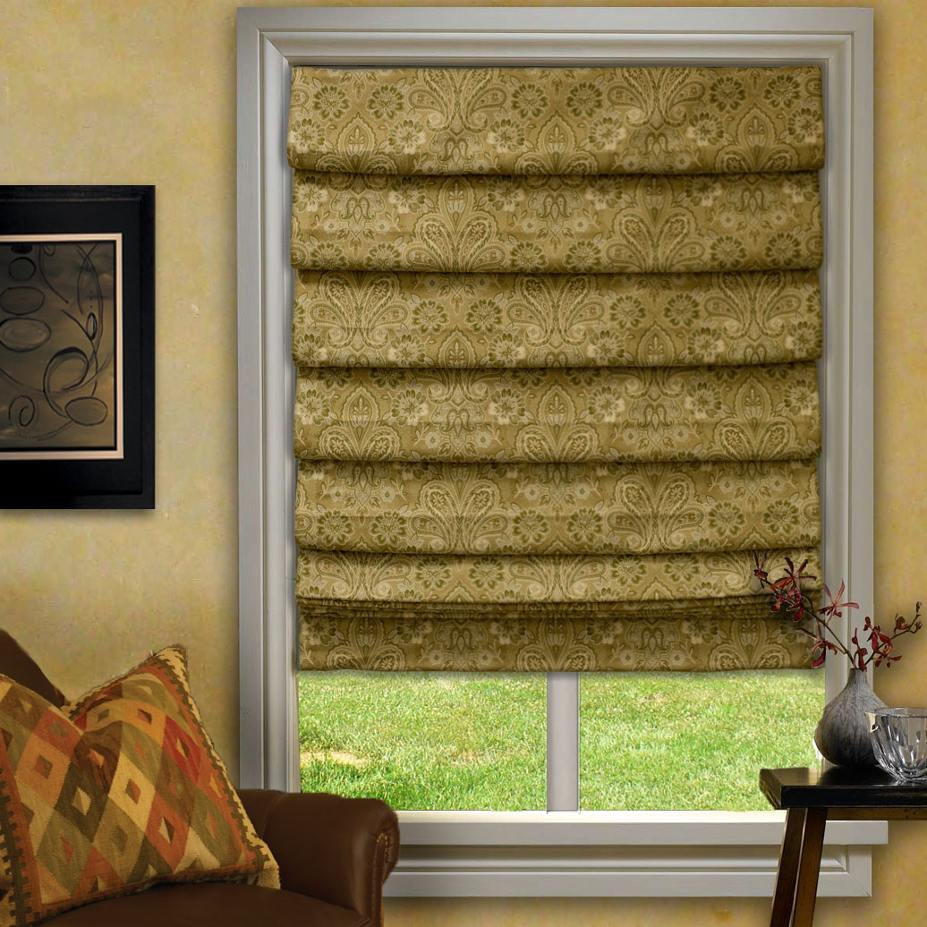 Custom Neptune Waterfall Roman Shades Window Blind Outlet