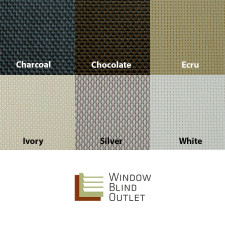 Solar Shade 10% Color Swatches
