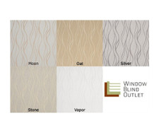 Custom Roman Shades Everest Series Swatches