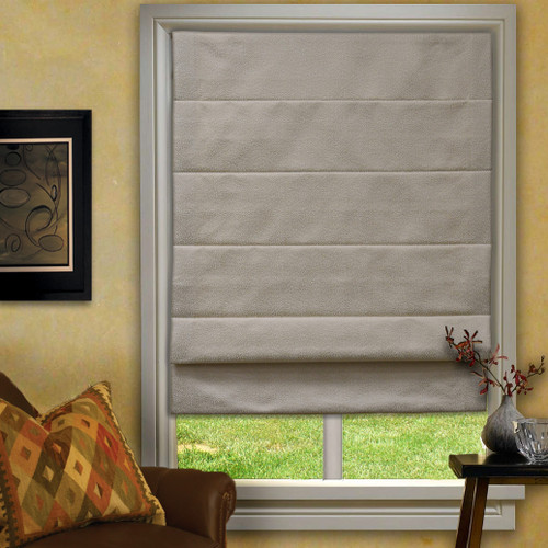 Rain Series Custom Roman Shades