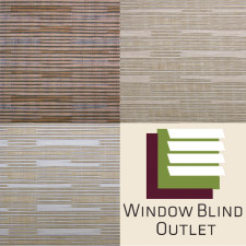 Wicker Look Woven Shade Colors