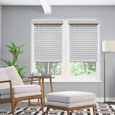 Aura Cordless Faux Wood Blinds