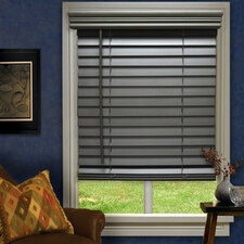 Ashwood Gray Faux Wood Blind