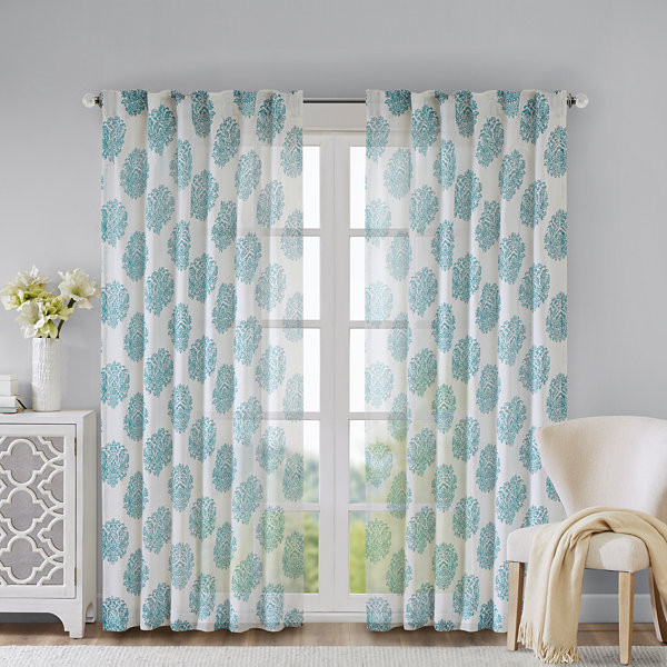 Addison Rod Pocket Curtain Panel Window Blind Outlet